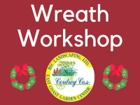 Wreath Workshop December 3rd at 11am SOLD OUT