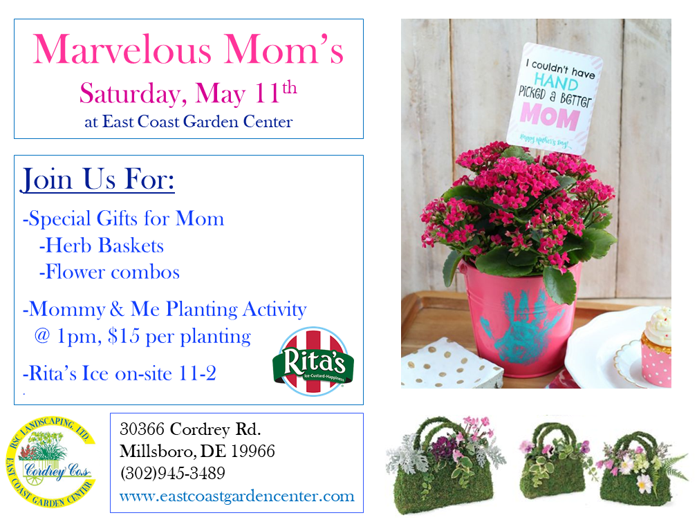 Mothers_Day_52519_Flier1 Marvelous Mom's Day - East Coast Garden Center