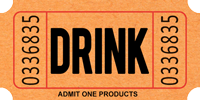 Drink Tickets -- Brews, BBQ & Bushes 8/3/18