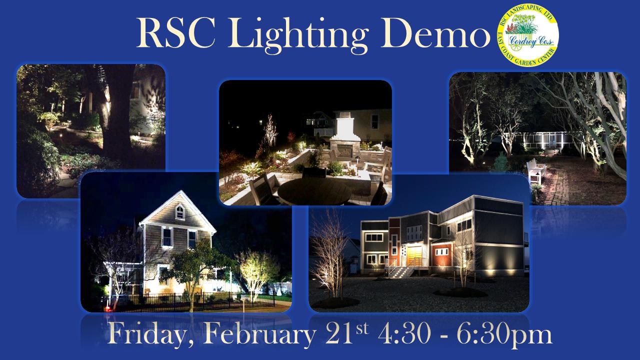 RSC Outdoor Lighting Demonstration